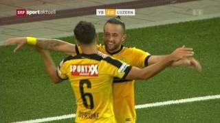 Young Boys - Luzern 2:1 10.09.2016
