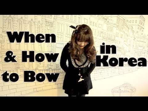 When & How to Bow in Korea