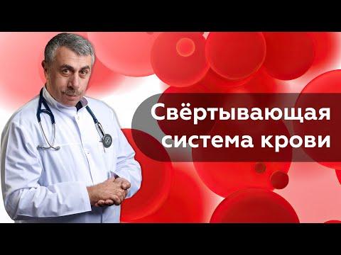 Свёртывающая система крови / Коагулограмма | Доктор Комаровский