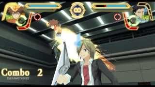 Repeat youtube video Katekyō Hitman Reborn! Kizuna no Tag Battle All Tag Team Attacks