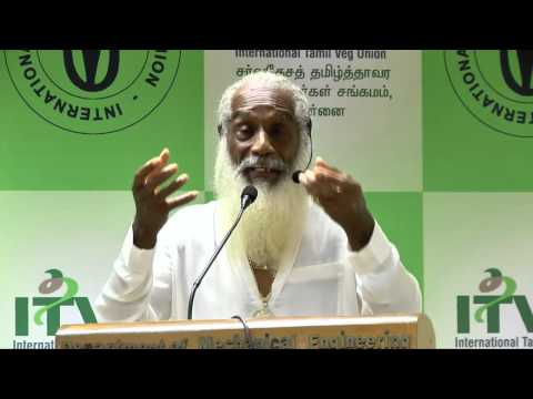 IVU 42nd world veg fest at chennai - Dr Aris Latham