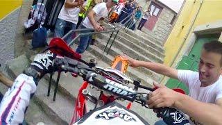 Extreme Enduro POV Race Through the City