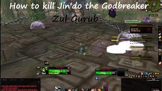 World of Warcraft Guide : How to kill Jin'do the Godbreaker (Zul Gurub) ?