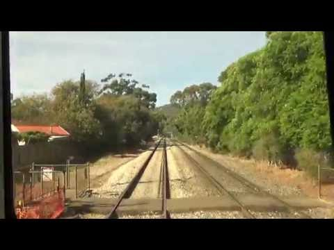Adelaide Metro Belair Line Driving View Adelaide to Belair Station