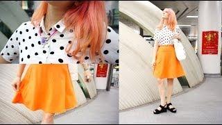 プチプラ夏コーデ GU x H&M Tokyo Fashion: Affordable Summer Look