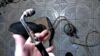 видео Моя самодельная бензиновая горелка