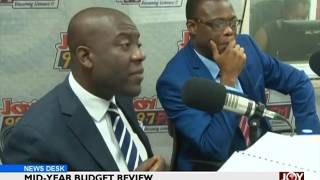 Mid-Year Budget Review - News Desk on Joy News (1-8-17)