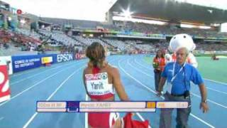 Nevin Yanit 2010 wins Barcelona European Championships Women's 100m hurdles. GOLD