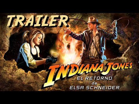 Indiana Jones. Return Of Elsa Schneider TRAILER FAN FILM [English Subtitles]