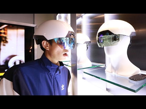 THIS TECHNOLOGY EXISTS!? (Augmented Reality Glasses)