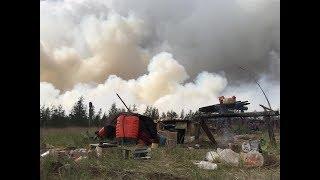 Страшный ЛЕСНОЙ ПОЖАР угроза деревне Бахынай Якутия! Yakutia