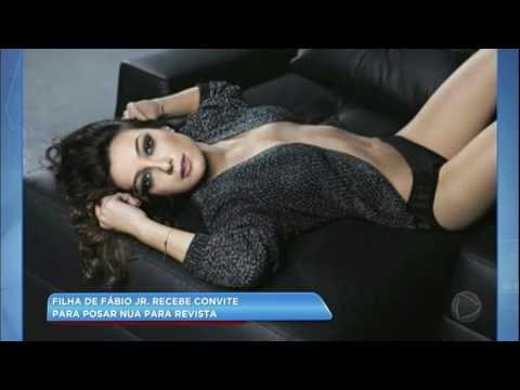 Hora da Venenosa: filha de Fábio Jr. recebe convite para posar nua