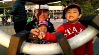 20170401林承緯VS林芸菲台北關渡公園敲鐘照片三D動畫HD thumbnail