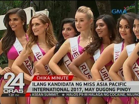24 Oras: Candidates ng Miss Asia Pacific International 2017, ipinakilala