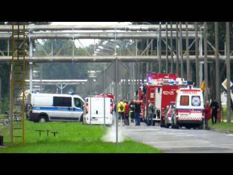 Wybuch i pożar instalacji w Zakładach Azotowych Kędzierzyn