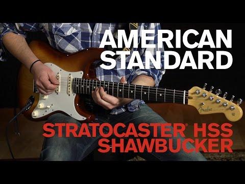 American Standard Stratocaster® HSS Shawbucker Demo | Fender