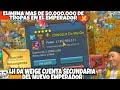 Gambar cover ELIMINA LH DA WEIGE MAS DE 50M DE TROPAS EN EL EMPERADOR - BAJA 5.000.000.000 DE PODER-LORDS MOBILE