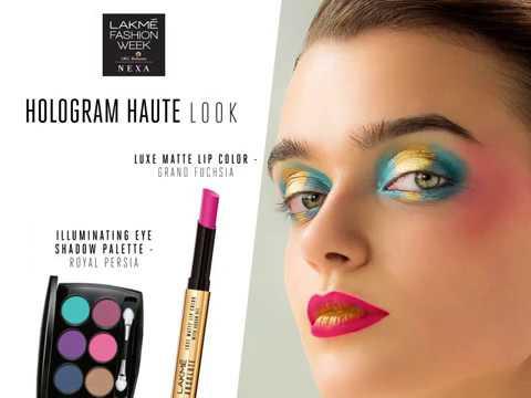 Lakmé Absolute Makeup Technique- Hologram Glazing