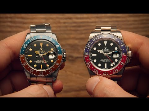 Old vs New - Rolex GMT-Master | Watchfinder & Co.