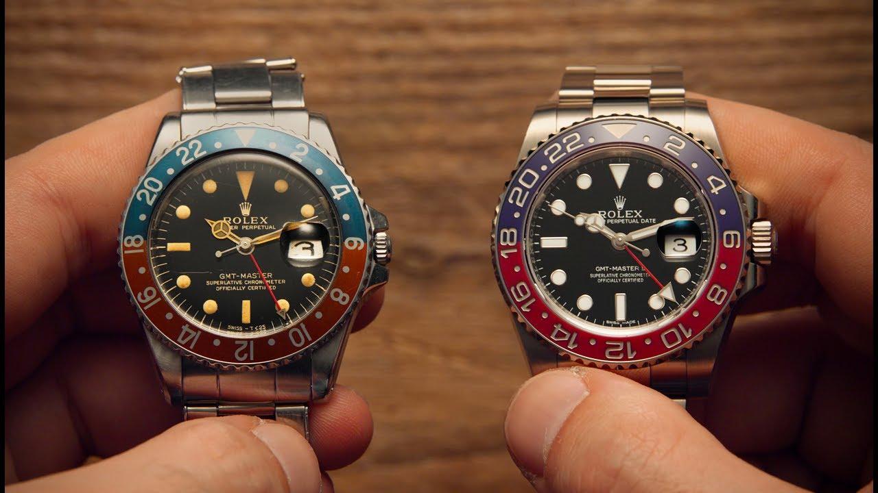 Old Vs New Rolex Gmt Master Watchfinder Co