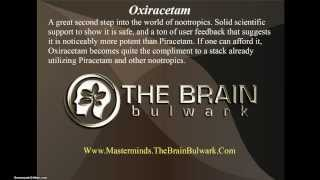 Oxiracetam - Nootropics