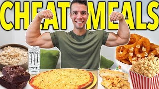 WHAT I EAT IN A CHEAT DAY | Fantasy Vegan Meals 🍕