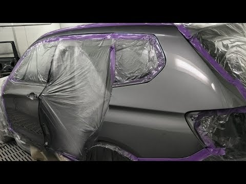 BMW X3: Spray Painting