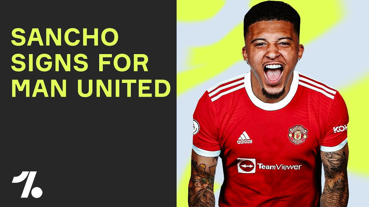 Here's why Jadon Sancho is a GREAT transfer for Manchester United!