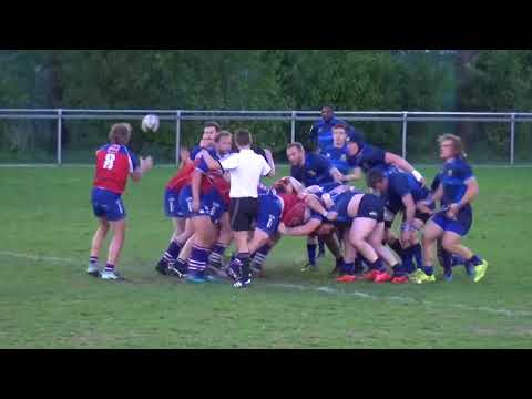 Rugby 2018 Gooi   Waterland 26 04 2018 highlights