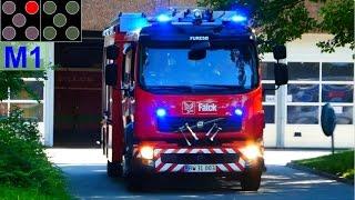 HLF M1 falck farum frederiksborg brand & redning brandbil i udrykning feuerwehr einsatzfahrt