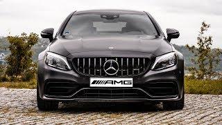 Mercedes-Benz C63S AMG - temná síla