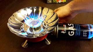 Обзор газовой плиты туристской Energy GS-100