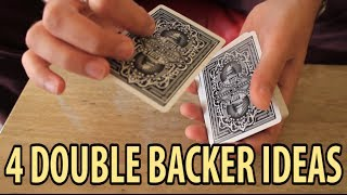 4 Double Backer Ideas - Tutorial