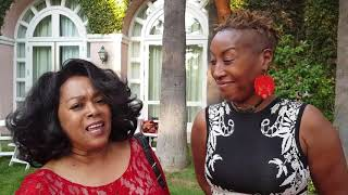 Esther Austin talks to Susaye Green from The Supremes at The HAL Awards 2018