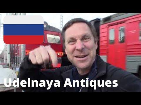 Udelnaya FLEA MARKET - Biggest ANTIQUES Market  (Budget Travel Russia) {St. Petersburg, RUSSIA}