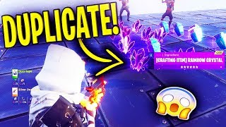 *NEW* DUPLICATION GLITCH 2018! 1000 Rainbow Crystal (MUST SEE) - Fortnite Save The World