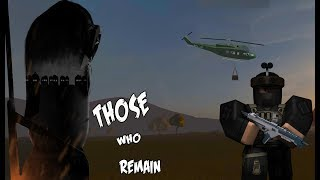 LET THE FIGHT BEGIN -- ZOMBIE SURVIVAL GAME / Those Who Remain (ROBLOX)