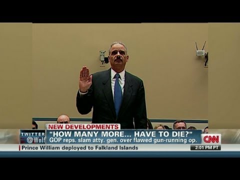 Fast & Furious: Holder Pressured
