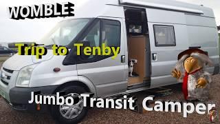 Camper Self build.. Holiday to TENBY & Manorbier Castle