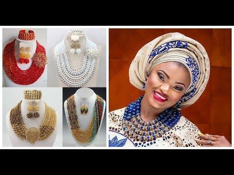 African beads jewelry designs=handmade jewelry ideas 2018