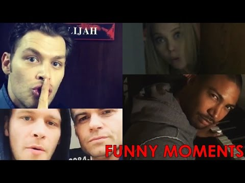 Best Funny Moments | Behind the Scenes | The Originals Season 3 | Joseph Morgan, Daniel Gillies..