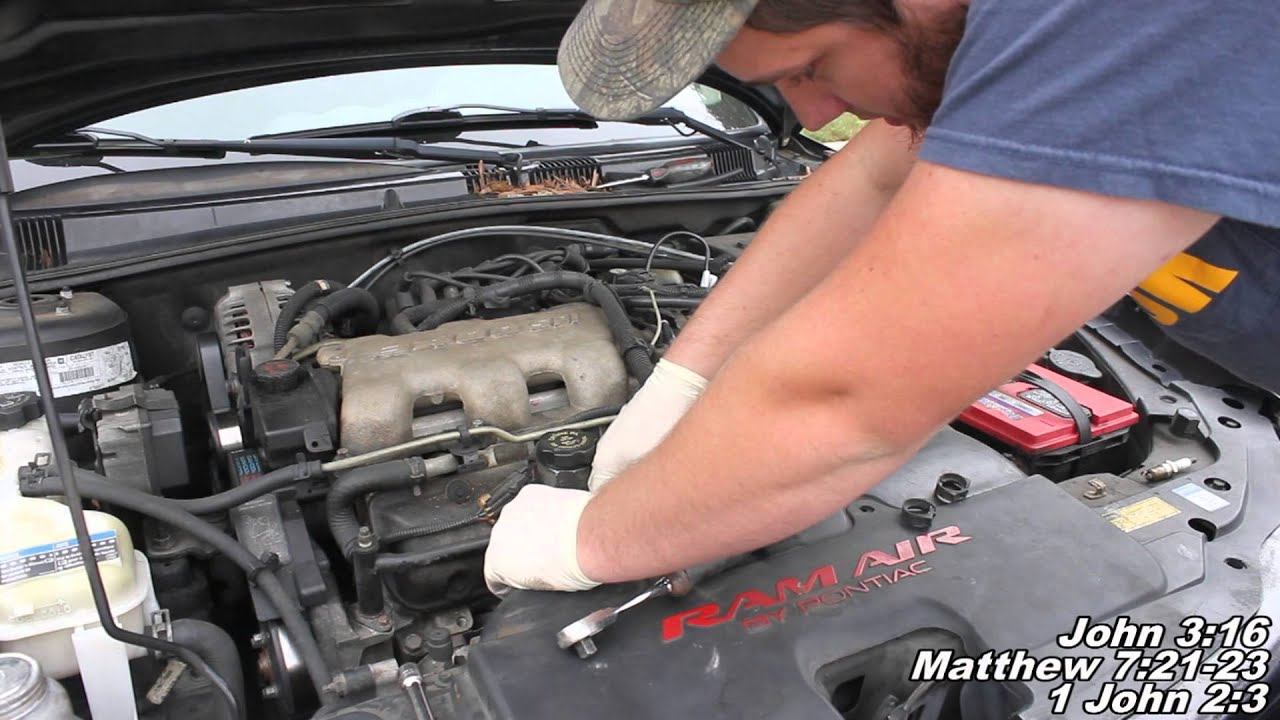 spark plug wires remove replace how to pontiac grand am youtube rh youtube com