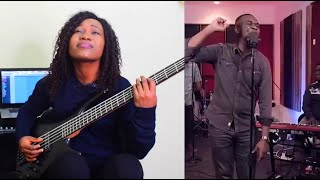 Joe Mettle - Woship Session with lovegift - Bass Cover