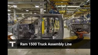 Ram 1500 Pickup Truck from Metal to Pedal Assembly