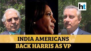 Watch: Indian Americans speak on Kamala Harris being named VP nominee