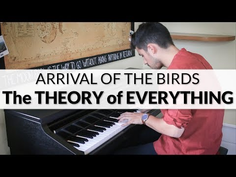 The Theory of Everything - Arrival Of The Birds (The Cinematic Orchestra) | Piano + Strings Cover