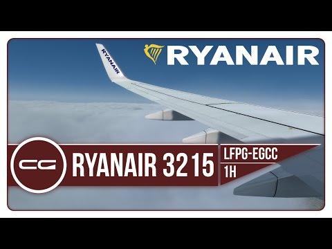 P3D v3.4 | LFPG (The Wrong Paris...) - EGCC (Manchester) | RYR3215D