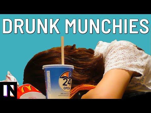 "Video Shows How ""Drunk Munchies"" Are the Scientific Consequence of a Night Out"