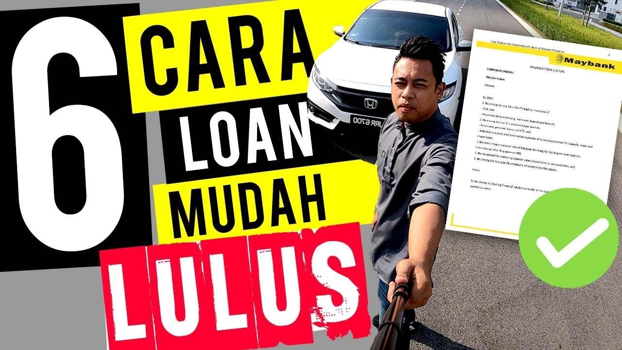 6 Tips Loan Kereta Mudah Lulus Ep 10 Youtube