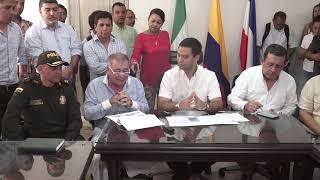 Intervención del Dr. José Luis Urón. Rueda de Prensa de la Alcaldía de Valledupar